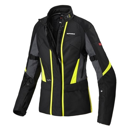 Spidi Traveler 2 Lady Jakke Sort/Fluo